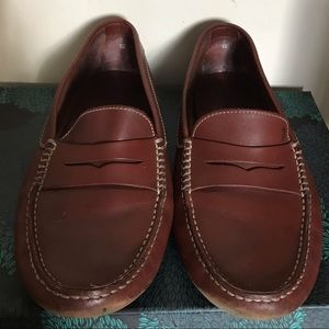 Tod's driving leather loafers
